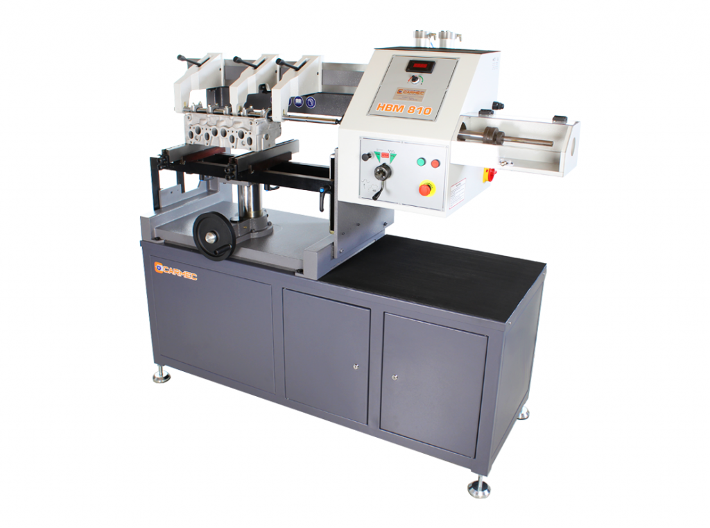 Carmec HBM810 line boring machine for cylinder heads