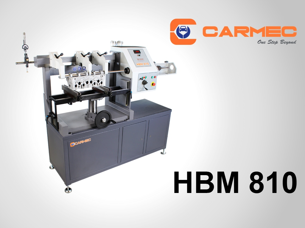 HBM 810 Line boring machine for cylinder heads